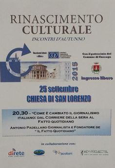 Rinascimento Culturale a Gussago http://www.panesalamina.com/2015/41646-rinascimento-culturale-a-gussago.html