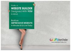 Website Builder, Free Website, Small Business Websites - WebStartToday.com