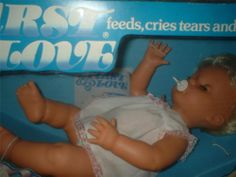 PEDIGREE FIRST LOVE DOLL original box with dummy and instructions EXCondition | eBay Childhood Toys, Childhood Memories, Child Hood, 40th Birthday, My Children, Growing Up, First Love, Nostalgia, Beer