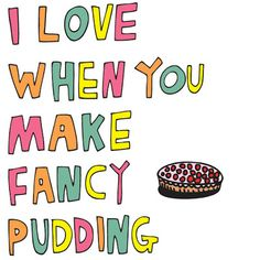 Get some puddings on your menu!