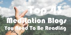 A handy list of #meditation blogs & websites for your reading pleasure