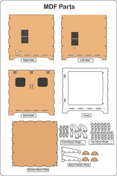 Reprap Prusa 3D Printer Enclosure kit - Vortex-RC