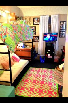 Lilly dorm room