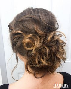 #bridesmaidhair #weddinghair #lowbun #hairbyanniebraun