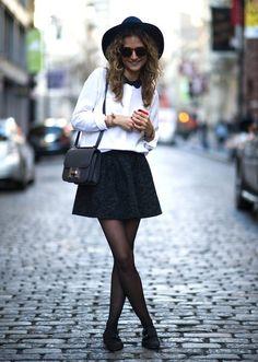 Hit de Inverno: Meia-Calça #winter #fashion #trends