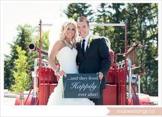 #wedding #firetruck #fireman #firefighter #andtheylivedhappilyeverafter #firefighterwedding