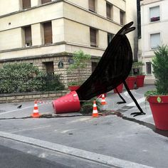 Christoph Niemann: Recently in #Paris, Rue Vaneau