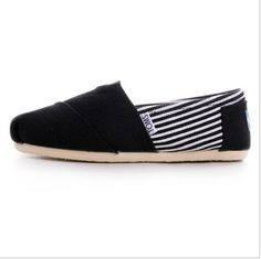 Striped Toms Shoes Men Canvas Black : Mens And Womens Toms Shoes, Discount Online Sale, Toms Outlet Offer the 2013 Latest and Classic Toms Shoes, Toms Boots and Toms Stripe for Men and Women. 100% Top Quality Guarantee, Free Shipping! $17