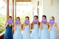 Text this to the groom before the wedding. Such a cute idea<3