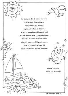 Summer Crafts, Crafts For Kids, Beach Coloring Pages, Sue Sunbonnet, Printable Border, School Clipart, Kindergarten, Clip Art, Bullet Journal