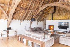 cornish medieval barn living homes