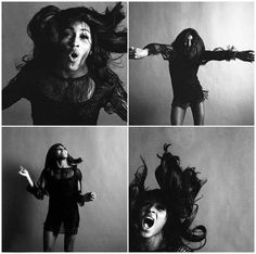 Young Tina Turner .. she just turned 75 by the way