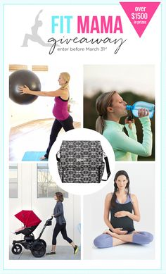 Fit Mama Giveaway - Enter to win 5 Must-Have Work-out Items for Moms! - Project Nursery