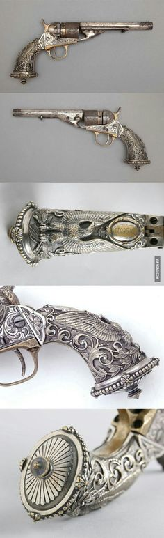 This revolver is what I call applied art