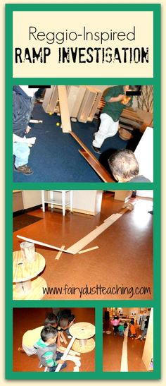 Get an inside look at a Reggio-inspired ramp investigation!