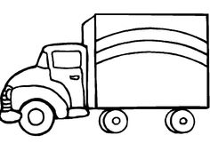 coloring pageskids colouringvehiclestruckpakistantransportationmotorcyclesfeltgoogle search