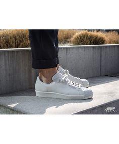 Adidas Australia Superstar 80S Clean Crystal White Crystal White Off White  Trainers Off White Trainers de5fdb6aa