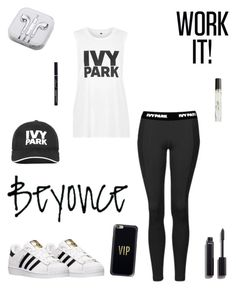 """#workit!"" by jhues-stacy ❤ liked on Polyvore featuring Topshop, adidas, Ivy Park, Casetify, PhunkeeTree, Chanel and Dolce&Gabbana"