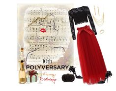 """Celebrate Our 10th Polyversary! - Happy Birthday"" by selene-cinzia ❤ liked on Polyvore featuring Miss Selfridge, Chicwish, Accessorize, Taylor Kenney, Kate Spade, polyversary and contestentry"