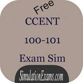 Visit: https://play.google.com/store/apps/details?id=com.anandsoft.ccentexamsim for free #CCENT 100-101 practice questions in android app