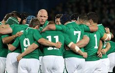 Skipper Paul O'Connell inspired Ireland to a memorable win over Australia Irish Rugby, Mae West, Rugby World Cup, Sport Man, Office Ideas, Ireland, How To Memorize Things, Australia, Inspired