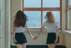 Find images and videos about korean, lesbian and lgbt on We Heart It - the app to get lost in what you love. Lgbt, Couple Aesthetic, Aesthetic Grunge, Coming Of Age, Looks Style, Girls In Love, Cute Couples, Just In Case, Girlfriends