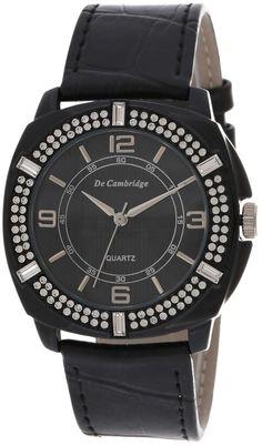 Mashreqworld : De Cambridge Unisex Casual Watch Leather Strap - DC1411-1 price, review and buy in UAE, Dubai, Abu Dhabi | Souq.com