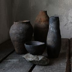Wabi-sabi interior decor. Wabi-sabi ceramics. Wood fired pottery. Primitive ceramics. Rustic native vase.