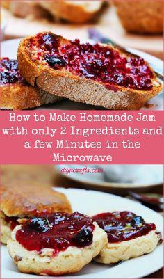easy homemade 2-ingredient jam