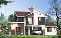 kerala house designs front view jpg 1152a 672 house exterior