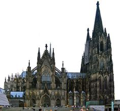 Cologne Cathedral, Germany. also beautiful on the inside!