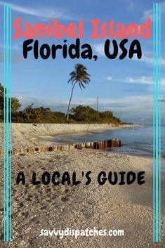 Space Guide Plan your next trip to Sanibel Island with tips from someone who was born and raised in the area! Learn about where to eat, what to do, and the best beaches for shelling!
