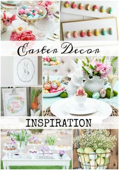 Easter Decor Inspira
