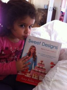 Nat from Sydney has joined the #SweetDesigns virtual book club!