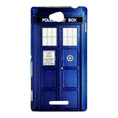 NEW Tardis Dr Who Sony Xperia C (S39H) Hardshell Case Cover Tardis Doctor Who FANTASTIC !!!