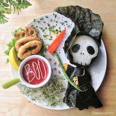 #FoodArt con Zombie