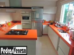 Construindo Minha Casa Clean: Mármores, Granitos e Eletros para Cozinha! Novidade Cubas Esculpidas!