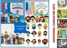 Crochet Samsung Crochet Kits: FROZEN and Princesses Amigurumi Patterns - Crochet Coral Reef - Marrying a Love For Math, Coral and Art - find out about these handcrafted art pieces plus free crochet patterns to create your own Disney Crochet Patterns, Easter Crochet Patterns, Amigurumi Patterns, Crochet Fish, Easy Crochet, Crochet Hats, Crochet Blankets, Crochet Flowers, Knit Crochet