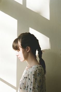 Stacy martin is Joe Braided Ponytail, Ponytail Hairstyles, Cool Hairstyles, Mohawk Braid, Pigtail Braids, Braid Hair, Stacy Martin, Girl Photography, Vintage Photography