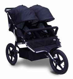 Tike Tech X3 Sport- With its knobby wheels this fixed wheeled stroller will push thru sandy beaches or dirt trails with ease. Well, as much ease as you can pushing 40 or so pounds :)