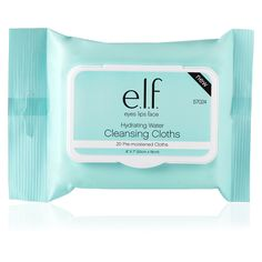 Hydrating Water Cleansing Cloths | e.l.f. Cosmetics
