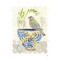 Birdy's Favourite Cup #birdprint