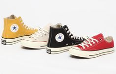 Black Lable Converse 70s