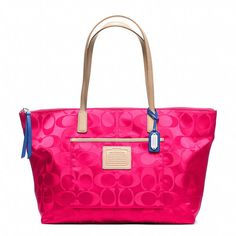 Coach  LEGACY WEEKEND EAST/WEST TOTE IN SIGNATURE NYLON