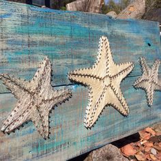 Handmade Starfish String Art by BrennanAthan on Etsy, $69.00