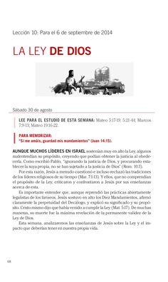 Leccion La ley de Dios by Escuela Sabatica via slideshare. #LESAdv Descargue aqui: http://gramadal.wordpress.com/