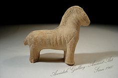 ancient pottery figures | Ancient Nabatean Pottery Figure Of A Horse, 100 Ad For Sale | Antiques ...