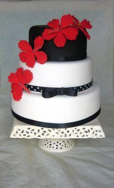 red and black wedding cakes   red and black wedding cake photo redandblack.jpg