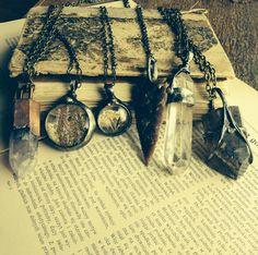 Mariaela Jewelry  Bohemian necklace Gemstone necklace