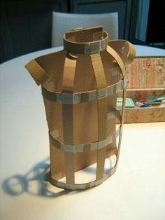 Shoe out of cardboard. Cardboard Mask, Cardboard Sculpture, Paper Mache Sculpture, Cardboard Crafts, Paper Mache Clay, Paper Mache Crafts, Diy Paper, Paper Art, Recycled Dress